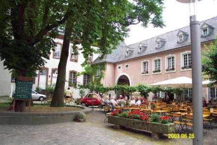 Wine Pub and Garden of Reichsgraf von Kesselstatt in Trier