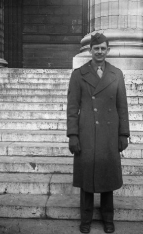 JPJ on the steps of Paris