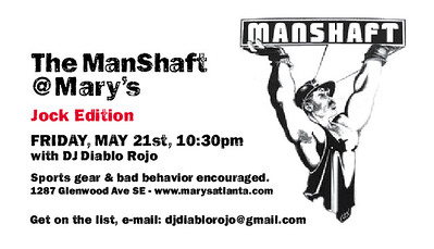05.21.10 - ManShaft: Jock/Sports Party 05.21.10 @ Mary's