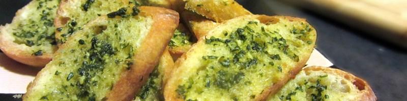 Garlic + Bread = Love