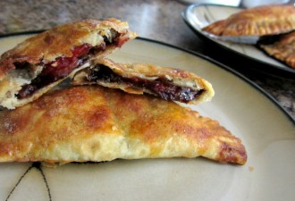 Strawberry, Nutella & Balsamic Reduction Empanadas