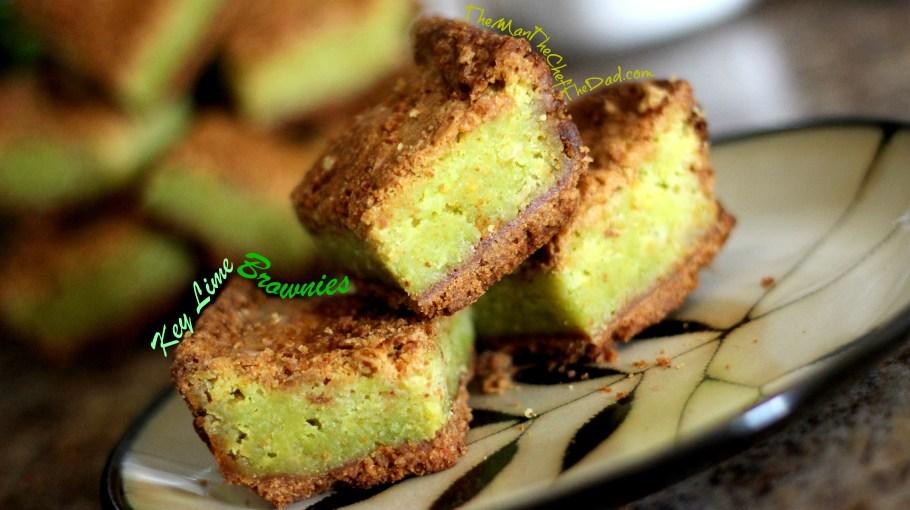 key lime brownies