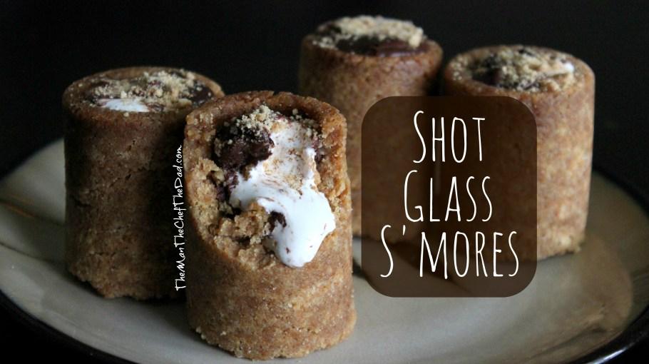 shot glass smores