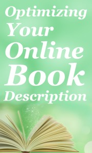 Creating an online book description that sells