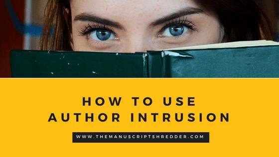 Correctly using Author Intrusion
