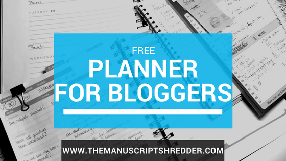 Free 2018 Planner for Bloggers