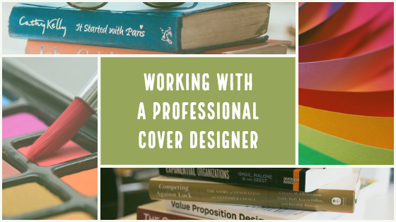 Working with a Cover Designer