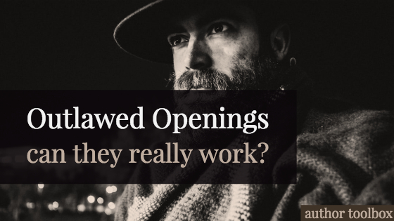 Outlawed openings: can they work?-author toolbox