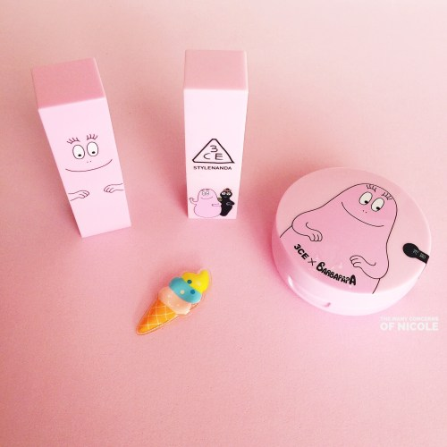 3CE x Barbapapa Makeup