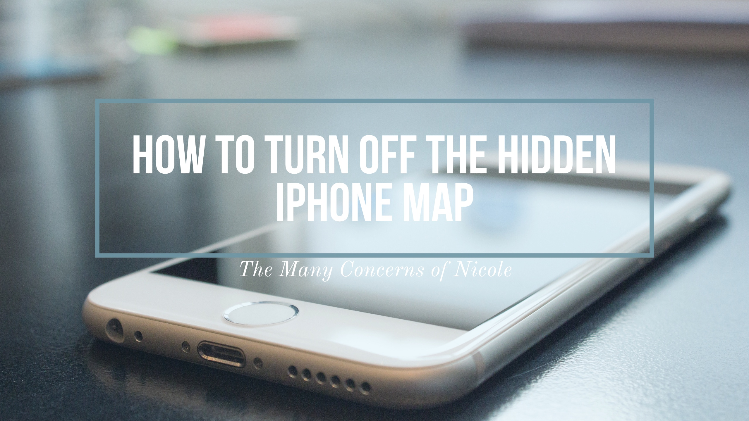 Hidden iPhone Map