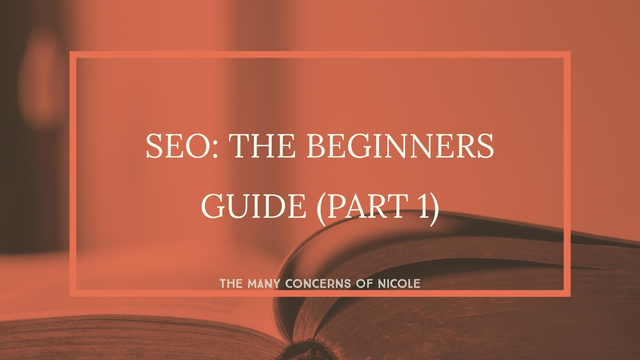 SEO beginners guide