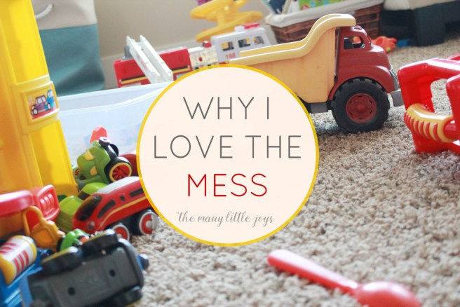 A reminder about what my messy house REALLY means...and why it's a good thing!