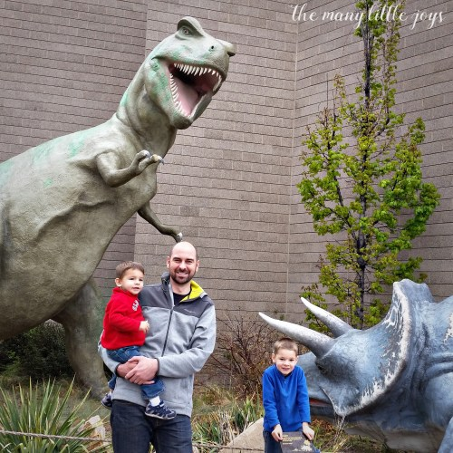 Dinosaur National Monument is a great family activity for little ones as well as well as grown-ups.