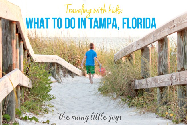 If you're going to Florida, check out these ideas for fun, family-friendly things to do with kids in the Tampa area!