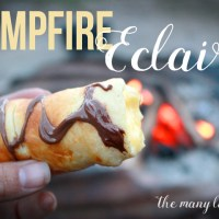 The Best Campfire Dessert EVER: Campfire Eclairs