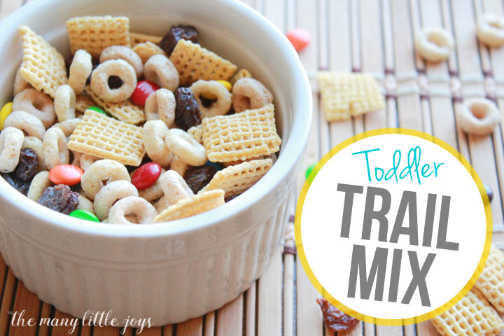 For busy families, snacks that can be eaten on the run are a necessity. This toddler trail mix is a great way to get your little ones a healthy, filling snack that will keep them going strong.