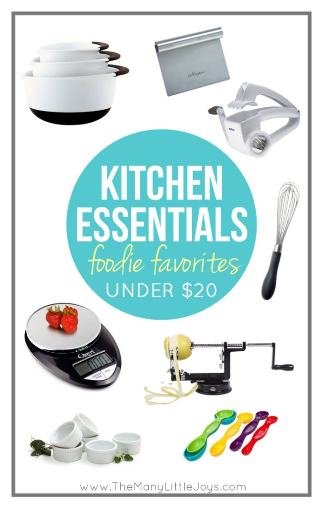 Every chef (or busy mom who throws food on the table on a semi-regular basis) needs the right kitchen tools for the job. Take a peek at this gift guide of my favorite cooking essentials; they will save you time and energy, and will make cooking more fun.