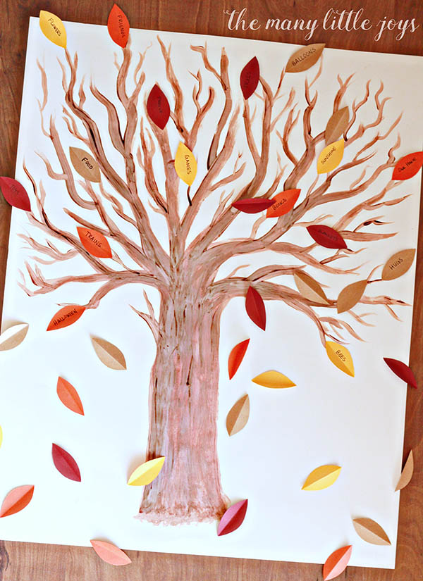 Got gratitude? This simple Thanksgiving tradition is a great way to bring your family together and get everyone thinking about what they're grateful for this holiday season.
