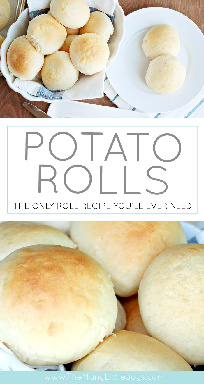 These perfectly soft potato rolls are the stuff of legends. With a convenient make-ahead option, they're perfect for Thanksgiving, Christmas, or just your every-day meal.