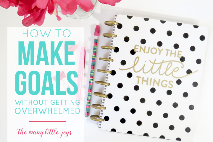 The new year is a great time to reflect on what is going well and what you want to improve in your life, but it can be overwhelming to make goals that lead to real changes. Follow these tips to create a simple plan to keep you calm and motivated!