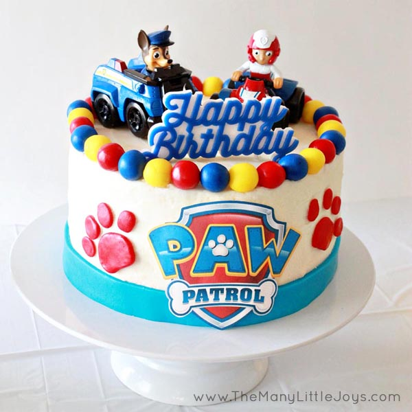 """If you have a child under five, you're probably all too familiar with Paw Patrol. Here is your complete guide to planning a pup """"paw""""-fect kids' birthday party, ideal for real moms who don't want to spend a fortune to throw a great bash!"""