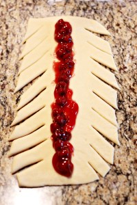 Move over cinnamon rolls...this sweet, baked cherry braid is a festive addition to your Christmas menu. Fancy-looking, but simple to make, serve it for dessert (or even breakfast) and wow you family!