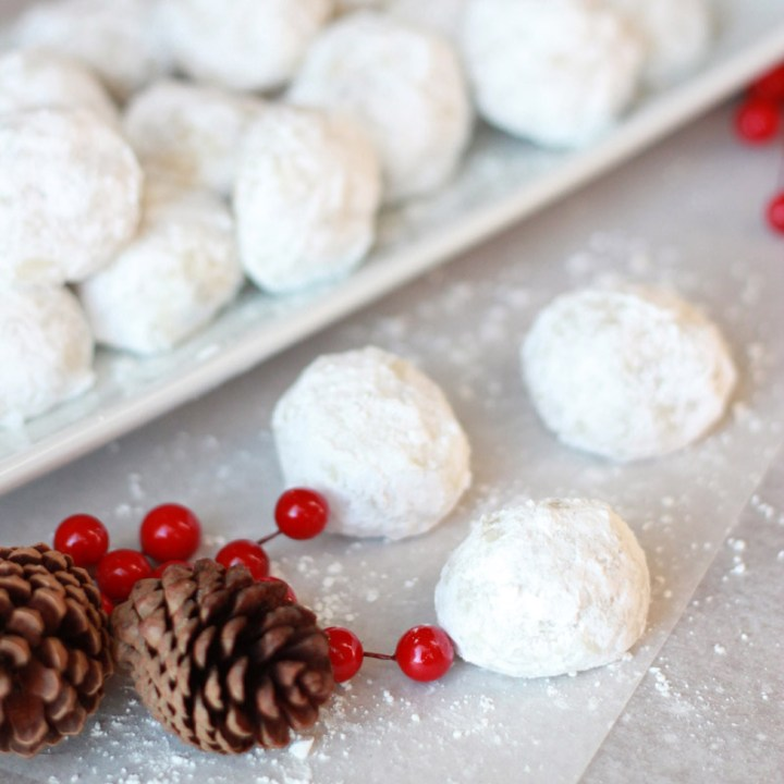 Call them whatever you like--wedding cookies, Russian tea cakes, snowball cookies--these bite-sized cookies are the perfect addition to a holiday dessert plate, cookie exchange, or for enjoying yourself by the Christmas tree.