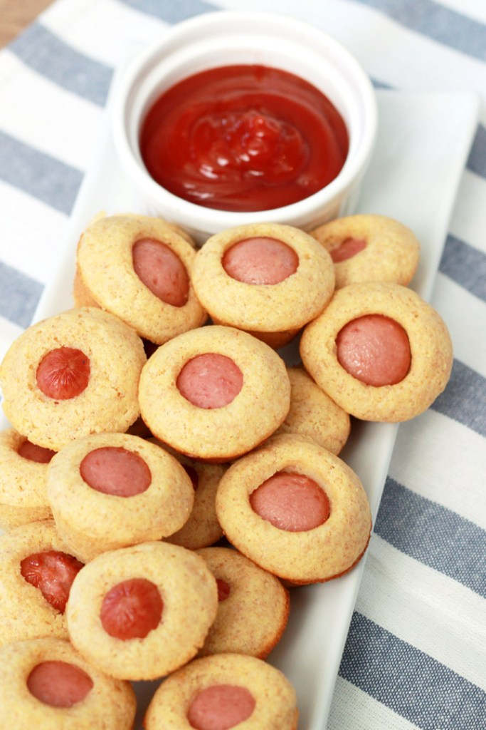 These mini corn dog muffins are the perfect weeknight meal for busy families (and picky eaters). Hearty, kid-pleasing, and super fast to make--a winner of a dinner!