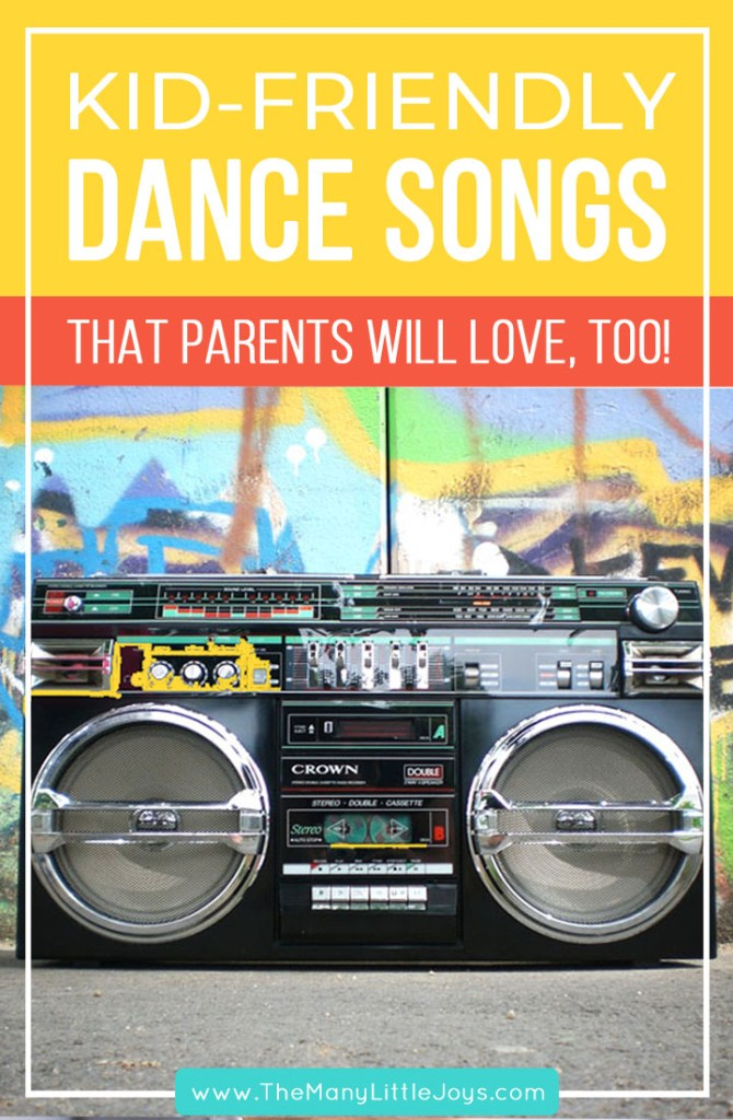 If you love listening to music with your kids, but you can't stand the thought of hearing Wheels on the Bus one more time, this playlist is for you. It's packed with kid-friendly songs that won't drive adults crazy...perfect for your next family dance party.