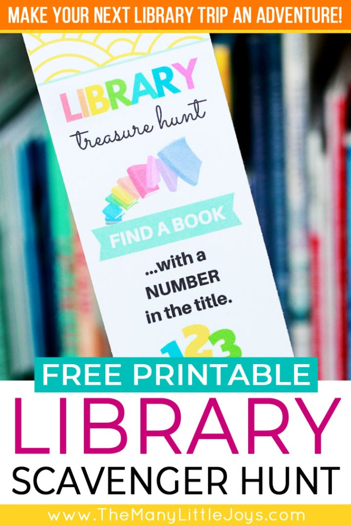 Do your kids ever get bored with going to the library? Make summer reading into an adventure this year with these free printable library scavenger hunt bookmarks.