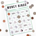 Teach your kids essential money skills and coin identification with this fun printable money bingo game!