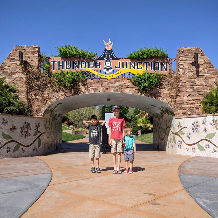 What to do in St. George with kids: Thunder Junction