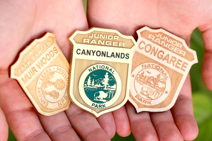 junior ranger program badges