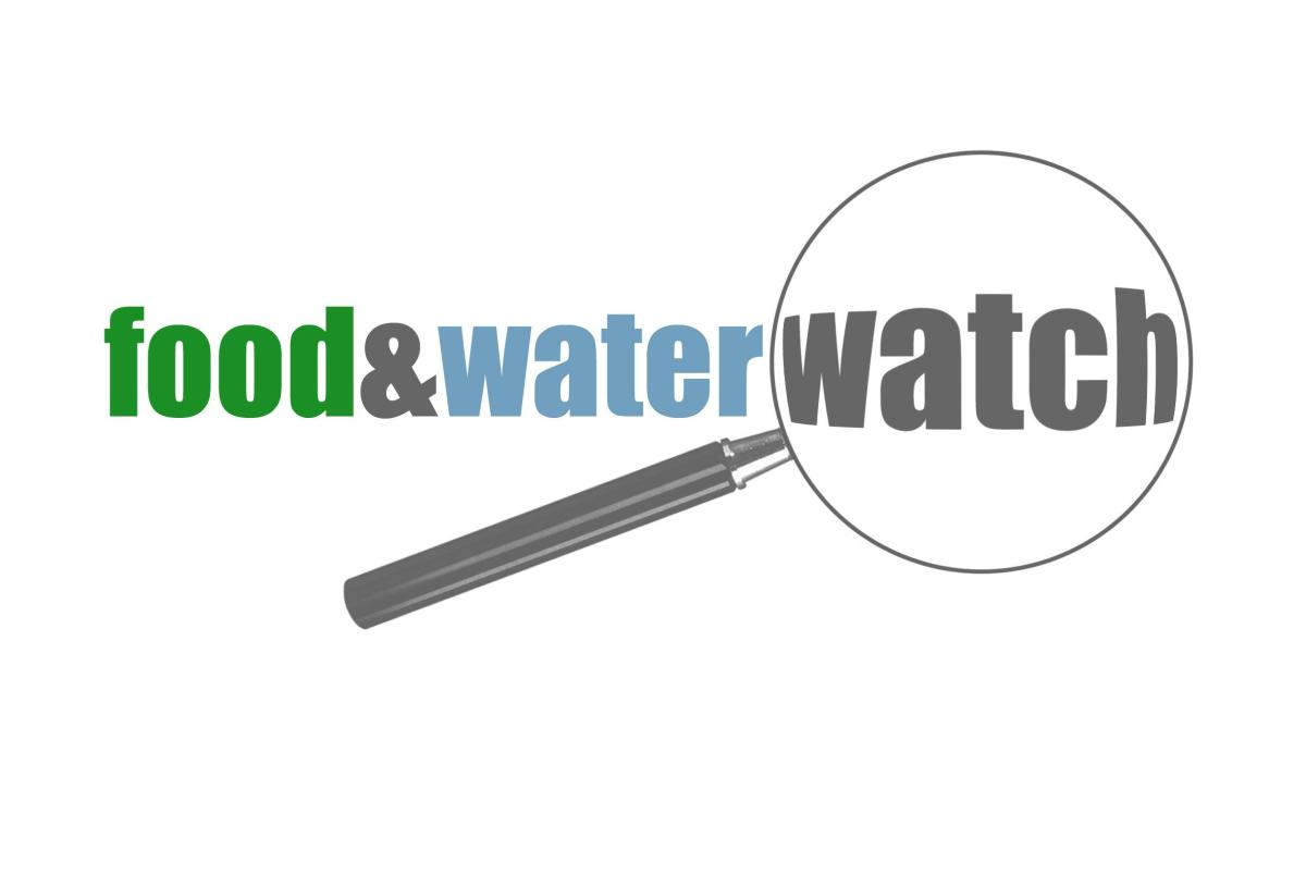 #1238: Food and Water Watch