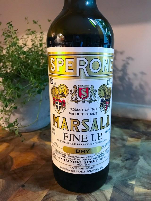 Marsala Wine Sperone Fine I.P