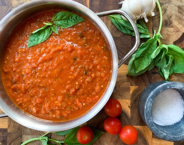 Fresh Tomato Homemade Marinara