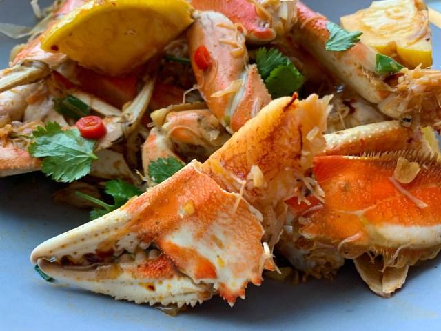 chili garlic crab