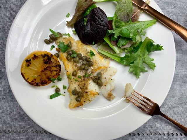 Healthy Cod Piccata