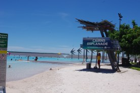Fake beach in Cairns