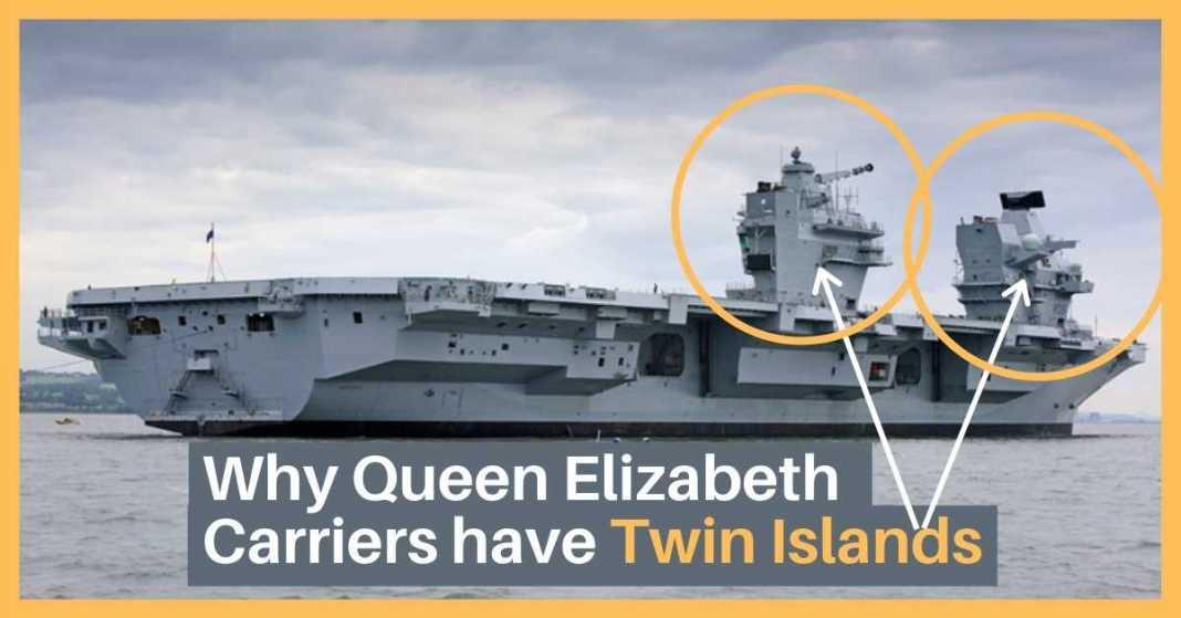 queen elizabeth twin islands