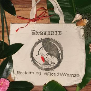 Marjorie tote bags for sale