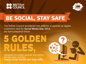 keeping kids safe online social media british council