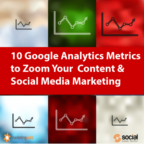Google Analytics Metrics Social Media Content and Blog