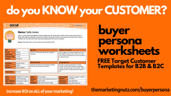 The Ultimate Buyer Persona Worksheet