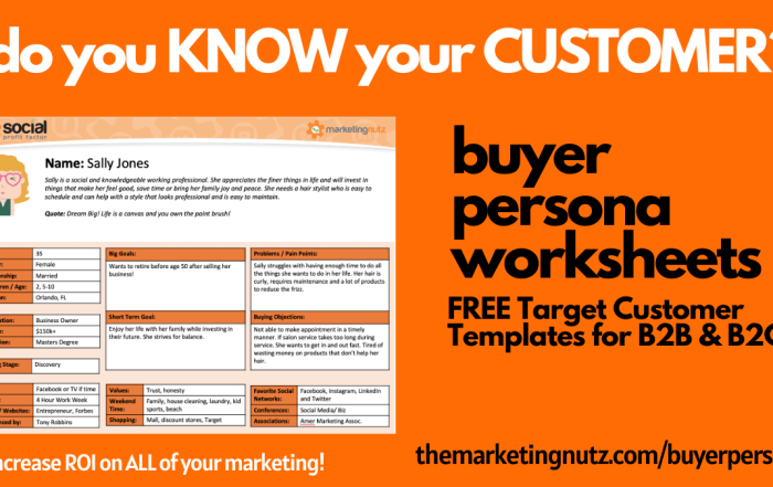 The Ultimate Buyer Persona Worksheet [podcast + free template]