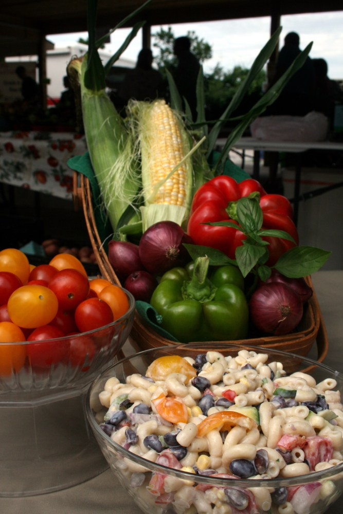 A Versatile Summer Recipe from Market Lady Susan Pittman (1/2)