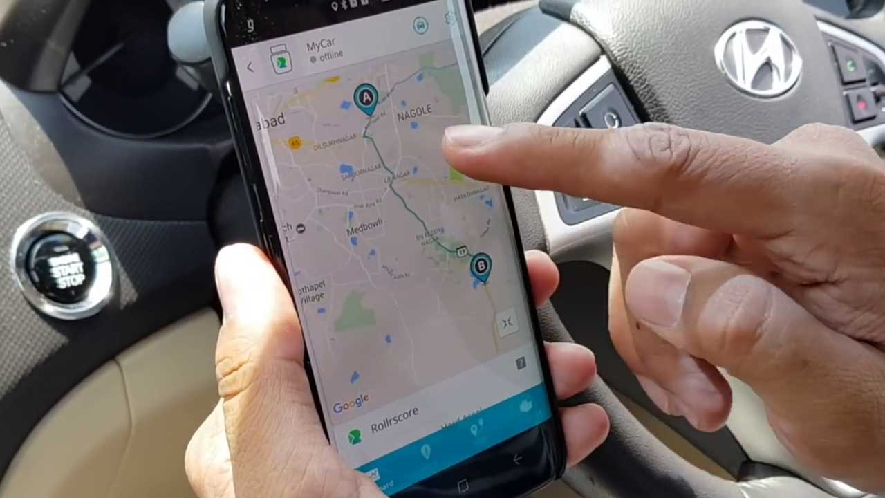 Track Vehicle - With Tracker you'll be able to locate your device at any time