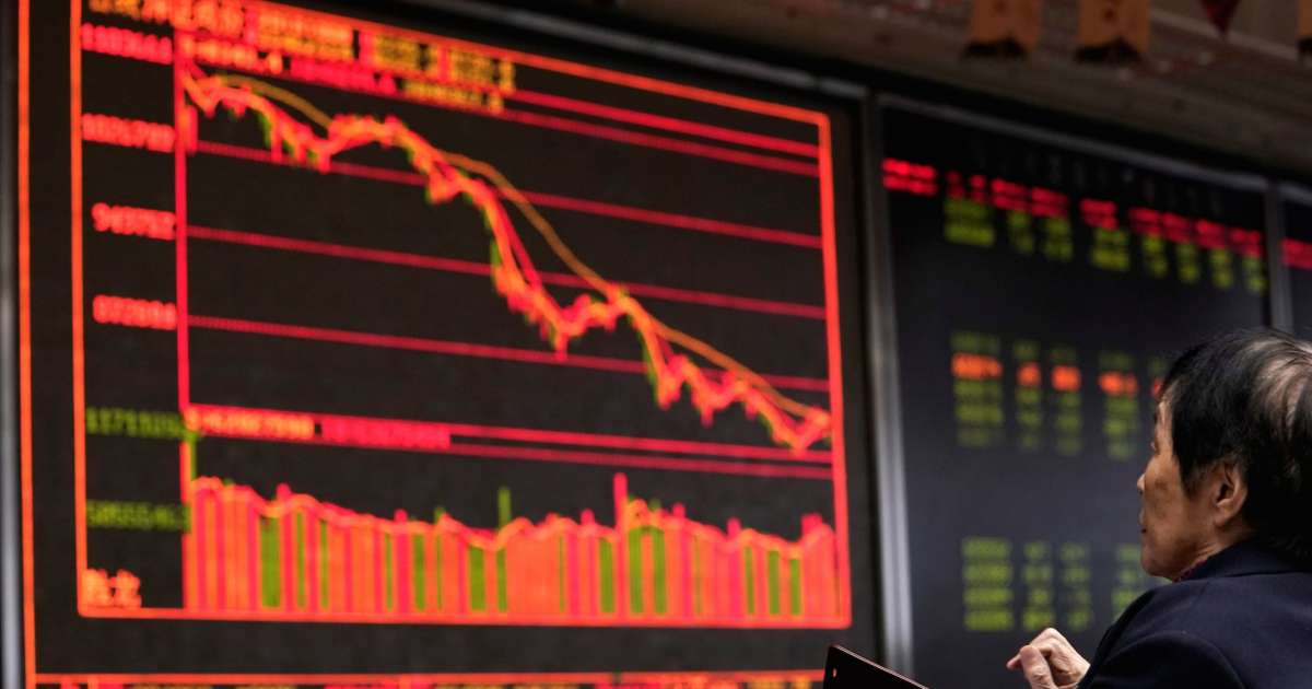 Global markets slump as a 'poisonous brewing cauldron' of risks spooks investors - Finance