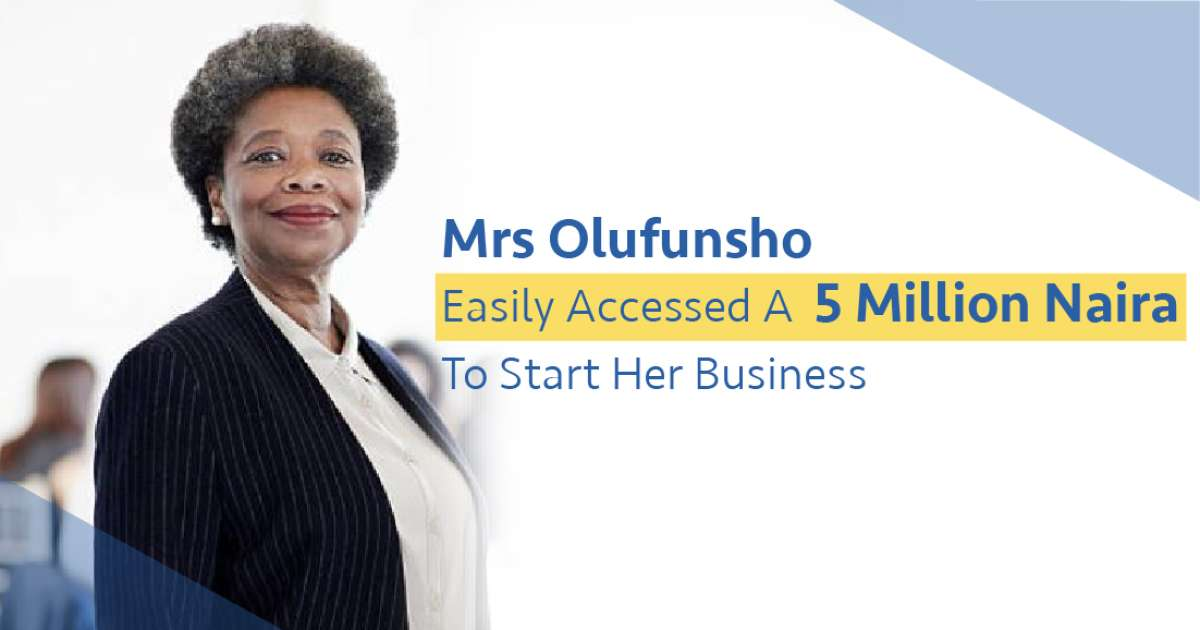 Mrs Olufunsho easily accessed 5m to start her business - Business
