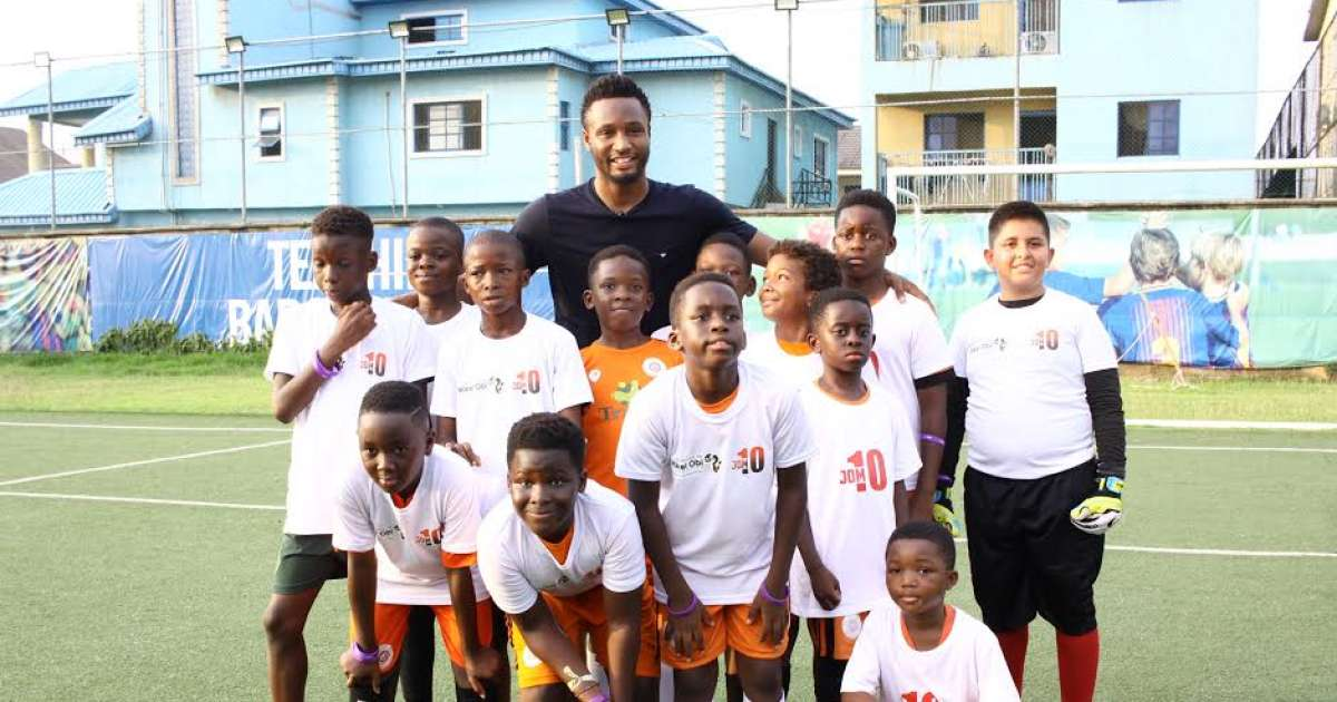 Mikel Obi relaunches foundation with football clinic in Lagos - Football